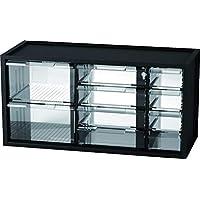 livinbox 桌面文具硬件收纳盒多用途储物盒可堆叠 10 个抽屉 10 Compartments - A9-5244 黑色 USIOSAmz20181126v4oUjA