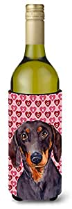 Dachshund Hearts Love and Valentine's Day Portrait Michelob Ultra Koozies for slim cans LH9133MUK 多色 750 ml