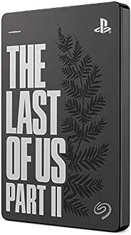 Seagate 希捷 Game Drive PS4 2 TB 外置硬盘便携式硬盘 - USB 3.0 The Last of Us II 特别版 专为PS4 (STGD2000202) 设计