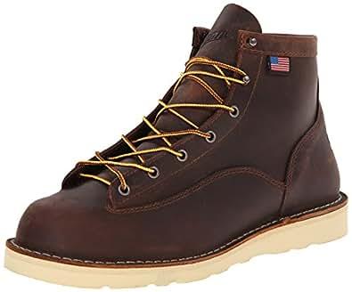 Danner Men's Bull Run 6-Inch BR Cristy Work Boot,Brown,7 D US