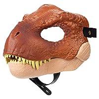 侏罗纪世界 Velociraptor 蓝色面具 T-Rex Mask Brown