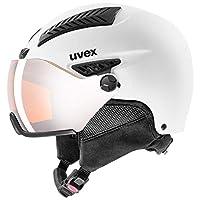 UVEX 優維斯 中性成人 hlmt 600 遮陽帽滑雪頭盔,白色,59-61 厘米