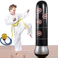 健身 punching 包重 punching 包充气 punching 塔袋独立式儿童健身玩具成人 de-stress 拳击目标 BAG