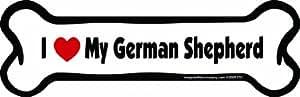 Imagine This,骨磁,塑料,2x7 英寸 德国牧羊犬 均码