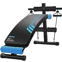 DDS 多德士 仰卧板 仰卧起坐板 家用健身器材 多功能健腹肌板健身板收腹器LJ116B 附赠8字拉力器