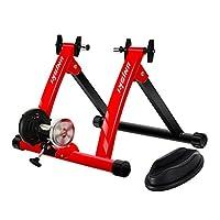 Unisky 自行车训练架室内运动磁性自行车训练架快速释放骑行架适用于山地和公路自行车