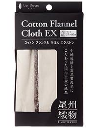 [Rubouru] 法兰绒布 EX(大号1件装) 尾州产十字架 4900148000