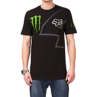 Fox Monster Ricky Carmichael RC4 s/s T 恤,黑色,XL 码