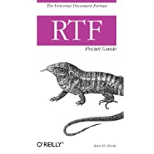 RTF Pocket Guide: The Universal Document Format (English Edition)