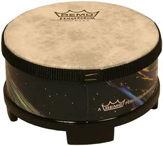 """REMO Drum, Fingerdrum, 5"""" Diameter, 2"""" Height, 'Cosmic' Graphics"""
