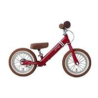 Learning Bike 滑步车 12型 充气轮胎 平衡自行车 儿童自行车 附刹车 JP8700 永恒红