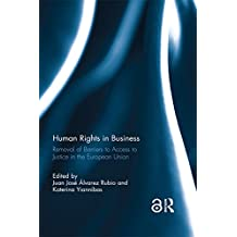 Human Rights in Business: Removal of Barriers to Access to Justice in the European Union (English Edition)