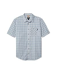 Timberland 添柏岚 PRO 男式 Plotline 短袖工作衬衫 加大加长