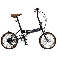 Rover FDB160(带车灯/尾灯) 16英寸(约40.64厘米) 小型折叠自行车 附带挡泥板 18216