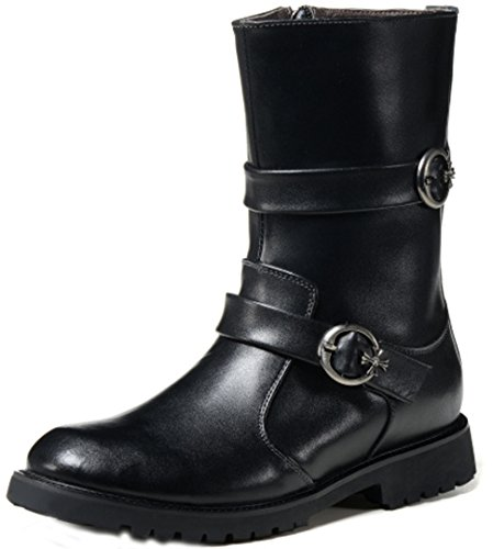 Unbeaten 型男时尚霸气 休闲鞋 马丁靴 中筒靴 骑士靴 战靴 男靴 军靴 时装靴 机车靴 工装鞋 真皮靴 牛仔靴 男鞋