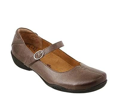Taos Footwear 女士 Ta Dah Mary Jane 深灰褐色 10 M US