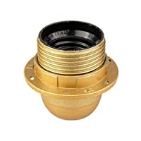 Arditi 保暖灯座三件套 带 E27 插座和部分螺纹衬衫,A802/Tpmv/Asf/Fmc/T190/Or/M/Ean1+273/Or-Ver/M/Pde/E27/S10,50,007292-001269-029682-026479