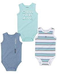 Calvin Klein 男童 3 件 连体衣