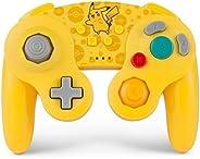 PowerA Pokemon 无线GameCube 样式控制器,适用于任天堂切换器 - 皮卡丘