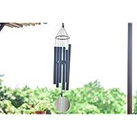 efoshm 的风铃适用于美丽户外家庭 décor- 神奇 beech wood WIND chimes28黑色人工调整铃铛–耐用露台和花园从 upblend 户外 黑色 28inch