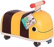 B.Toys by Battat BX1779Z B. 木制蜜蜂骑乘玩具