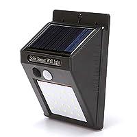 RUIXUTE 太阳能户外灯,无线 20 LED 太阳能运动传感器灯,户外墙防水*灯,后院,围栏,车库,花园,驾驶道(1 只装)