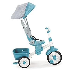 Little Tikes Perfect Fit 4-in-1 三轮车, 蓝色