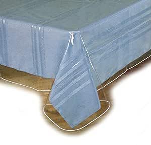 "SOFINNI 透明塑料桌布保护器,乙烯树脂桌布 透明 60"" x 90"" unknown"