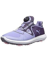 PUMA 女士 Ignite Blaze Sport Disc 高尔夫球鞋 Sweet Lavender-indigo 7 M US