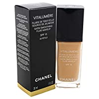 Chanel Vitalumiere Satin 柔滑液体粉底液 SPF 15-30 ml,50 Naturel