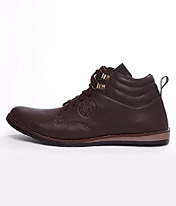 Rosso Italiano Men's Brown casual Shoe (rib499br105)