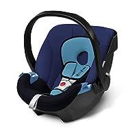 德国CYBEX婴儿提篮式儿童安全座椅Silver系列-Aton 蓝月亮(适合初生-13kg,0-18个月宝宝,德国目前购买率名列前茅的安全座椅品牌,连续多年ADAC测试品牌,可选配isofix底座)