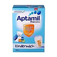 (跨境自营)(包税) Aptamil 德国爱他美幼儿配方奶粉1+段纸盒装600g(一周岁及以上)(包装更替随机发货)