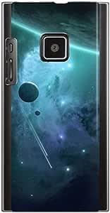 CaseMarket SoftBank LUMIX Phone (102P) 聚碳酸酯 透明硬质壳 [ 宇宙神秘]