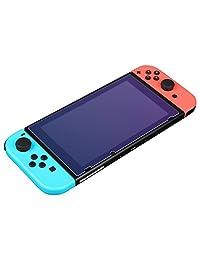 BUBM 必优美 任天堂Nintendo Switch钢化玻璃膜 NS防指纹switch保护贴膜高清护眼钢化膜