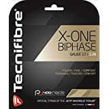 Tecnifibre 网球拍线 X-ONE BIPHASE 12米 ナチュラル(NA) 1.24mm