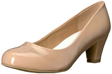 Brinley Co 女式 ANN-P 高跟鞋 肤色 7
