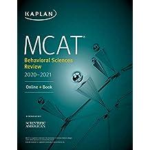 MCAT Behavioral Sciences Review 2020-2021: Online + Book (Kaplan Test Prep) (English Edition)