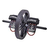 Lifeline Power Wheel 适用于终极核心训练,同时在您的身体内多达 20 块肌肉