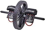 Lifeline Power Wheel 適用于終極核心訓練,同時在您的身體內多達 20 塊肌肉