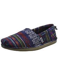Skechers 斯凯奇 BOBS系列 女 生活休闲鞋 一脚蹬民族风懒人鞋 733678