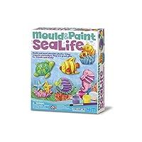 4M 石膏彩模系列 創意美術手工DIY玩具 海洋世界