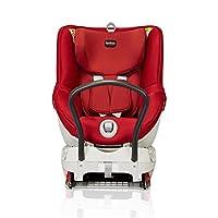 Britax 宝得适 汽车儿童安全座椅 双面骑士DUALFIX_BX 五点式安全带 反向安装 ISOFIX安装 热情红 适用于约0-18kg 约0-4岁