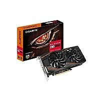 GIGABYTE 技嘉 AMD GV-RX570GAMING-4GD 4 GB GDDR5 256位内存DVI / DP / HDMI PCI Express 3显卡 - 黑色