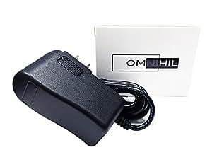 OMNIHIL(8 英尺长)交流/直流电源适配器兼容Omron 适配器,兼容自动充*压力显示器 BP742 BP742N BP760 BP760N BP761