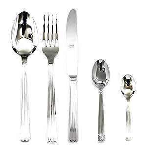 Mepra 13 件装底蛋糕服务器/叉子套装 银色 101922030M