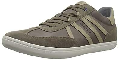 Geox 男士 Halver 1 运动鞋 灰色(Dove) 46 M EU (12.5 US)