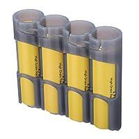 storacell 来自 powerpax slimline 186504件装电池 CADDY 灰色 Holds 4 Batteries