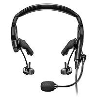 Bose Proflight 系列 2 航空耳机带蓝牙连接,5 针 XLR 电缆,黑色