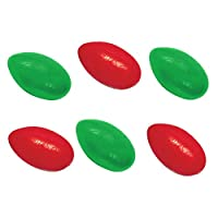 Original Silly Putty Red and Green Combo - 6 Pack